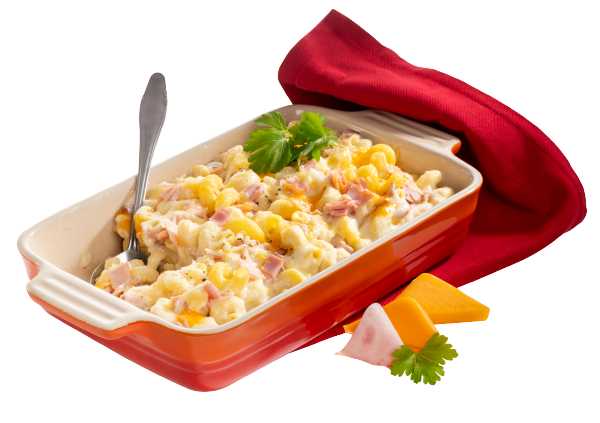 Condeli Mac and Cheese mit Schinken