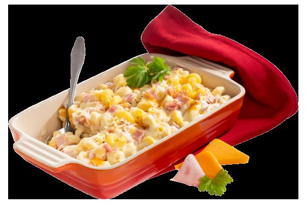 Condeli Mac and Cheese mit Schinken