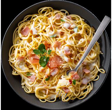 Condeli Italian Pasta Bowls Spaghetti Carbonara
