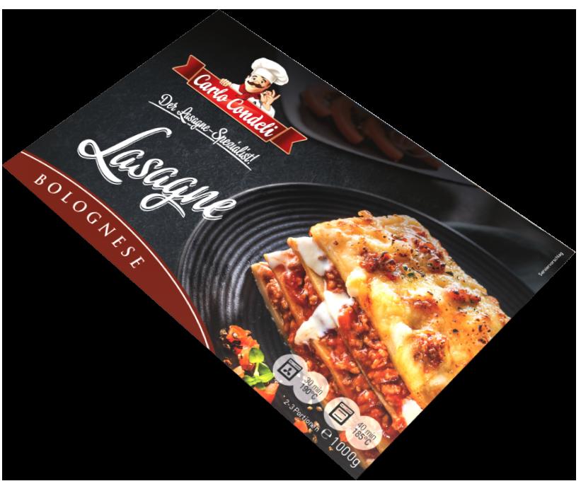 Condeli Lasagne Verpackung
