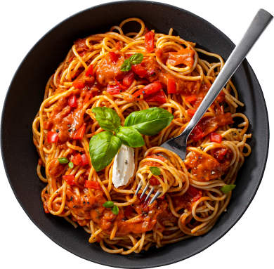 Condeli Italian Pasta Bowls Spaghetti Toskana